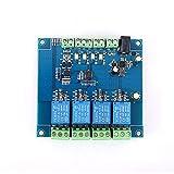 ZZQQ Módulo de relevo Conexión del Interruptor 4CH Modbus Módulo de relé RS485 Controller TTL de 4 bits Modbus-RTU de señal de Entrada de Salida Anti-inversa para el Voltaje de Control