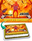 Hello Neighbor Edible Image Cake Topper Party Personalized 1/4 Sheet