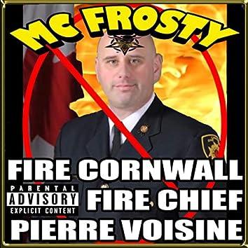 FIRE Cornwall Fire Chief Pierre Voisine