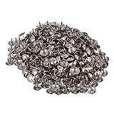 Rdexp argento rotonda cupola chiodi per tappezzeria divano 8 x 9 mm Stud Tack set di 200...