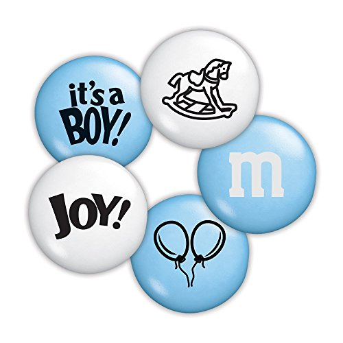 Baby Boy Custom M&M'S 5lb Bulk Candy Bag