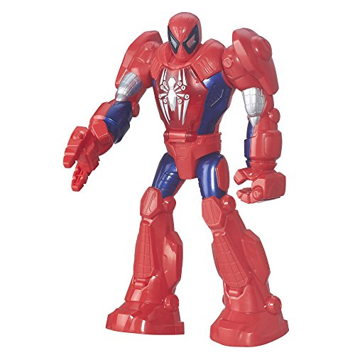 Playskool Heroes – Marvel Super Hero Adventure – Spider-Man Armure Robot – Figurine 29 cm