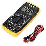 DT-9205A Digitalmultimeter, LCD-Digitalmultimeter Diode Volt Amp Ohm Kapazität Hz-Tester, AC/DC-Multimeter