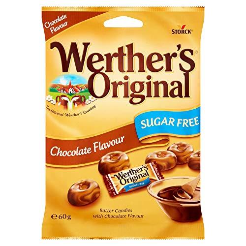 Werther's Original, Sin Azúcar Chocolate 60 gr