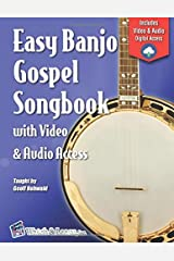 Easy Banjo Gospel Songbook with Video & Audio Access Paperback