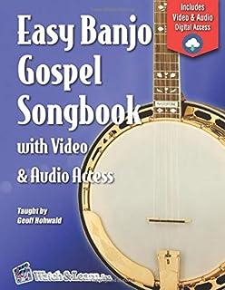 Easy Banjo Gospel Songbook with Video & Audio Access