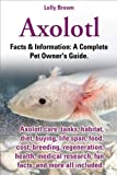 Axolotl. Facts & Information: A Complete Pet...