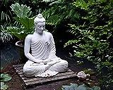 BHGJP Selbstklebende Wandtapete (B)200×(H)150Cm Schöne Buddha-Statue, Religiöse Figur, Buddha-Statue Wand-Fernsehhintergrundwandbürostudienkinderzimmerwohnzimmer-Wanddekorationstapete