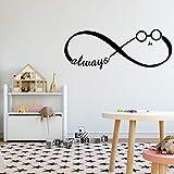 Creativo siempre pegatinas de pared decoración de la pared dormitorio decoración de la habitación de los niños mural pegatinas de pared A7 S 30x10cm