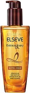 L'Oreal Paris(ロレアルパリ) 洗い流さないトリートメント べたつかない エルセーヴ ヘアオイル ホワイトジャスミンの香り とてもしっとり 本体(100ml)