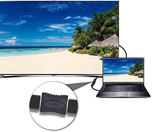 HDMI auf HDMI Winkeladapter, HDMI-Kupplungen, 4 Stück, HDMI-Buchse auf Buchse, 1080P, HDMI-Adapter Kupplung