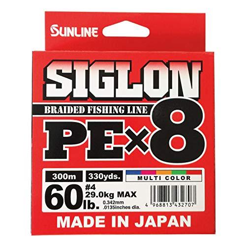 サンライン(SUNLINE)ラインシグロンPEx8300m5色4号60LBJ