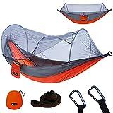 YOOMO Camping Hammock with Mosquito Net & 10ft Hammock Tree Straps Portable...