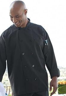 Uncommon Threads Unisex-Adult's Plus Size Chef Coat 10 BTN 5.25OZ