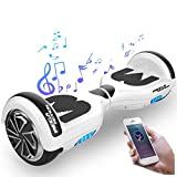 Mega Motion Kids Super Gifts Self Balanced Electric Scooter built in Bluetooth Speakers - LED