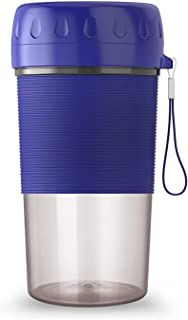 Juicer portable, machine de gobelet en smoothie rechargeable USB électrique, mélangeur, machine à couper le jus de mini-ju...