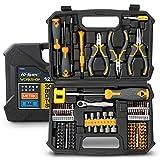 Hi-Spec Set di 128 Attrezzi per la casa e il garage. Utensili manuali per la riparazione e...
