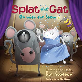 Splat the Cat: On with the Show cover art