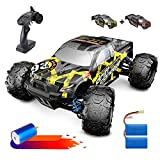 DEERC Brushless RC Cars 300E 60KM/H High Speed Remote Control Car 4WD 1:18 Scale Monster Truck for Kids Adults, All...