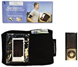 MP3 Player Armband Holder Case for iPod Nano - Made for Running, Jogging, Exercise, Workouts, Sports and Walking - ID Badge, Money and Card Holder - Fit's Apple Nano's 7th & 8th Gen