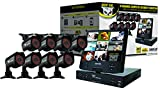 "8 Channel Complete Security Solution with 10.1"" Fold- Out LCD Screen, 8 Hi-Resolution Cameras and Free Night Owl Lite Software"