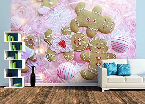 Premium Foto-Tapete Lebkuchen und Pralinen (versch. Größen) (Size XL | 465 x 310 cm) Design-Tapete, Wand-Tapete, Wand-Dekoration, Photo-Tapete, Markenqualität von ERFURT