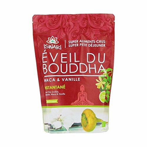 Iswari - Eveil du Bouddha Maca & Vanille 360G Bio - Prix Unitaire - Livraison Gratuit En France métropolitaine sous 3 Jours Ouverts