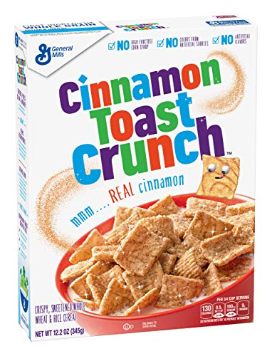 General Mills Cinnamon Toast Crunch Cereal, 12.2 oz