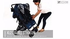 Amazon.com : The Twin+ (Zoe XL2) - Best Double Stroller ...