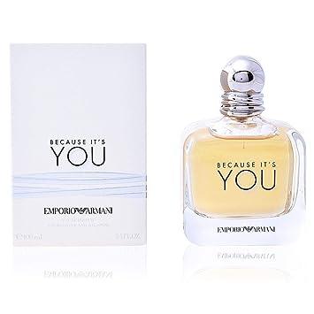 Amazon Com Emporio Armani Because It S You Eau De Parfum 3 4 Ounce 100 Ml Beauty