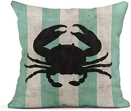 Forever Long Fundas de almohada de poliéster para decoración del hogar, cuadrada, 45,7 x 45,7 cm, funda de almohada decorativa en amor