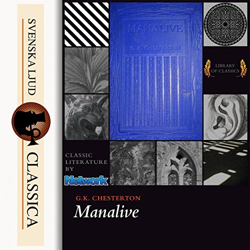 Manalive audiobook cover art