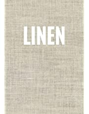 Linen: A linen print decorative book for coffee tables, bookshelves and interior design styling: Stack texture decor books to add design to any room. ... your own home or as a gift. (Texture Print)