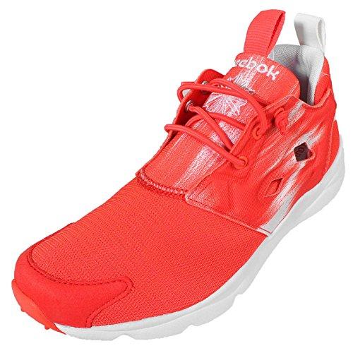 Reebok Furylite Contemporary, Zapatillas de Running para Mujer, Rojo/Blanco (Laser Red/White), 36 EU
