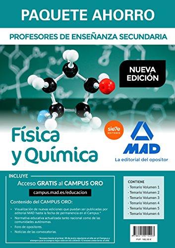 Paquete Ahorro Física y Química Cuerpo de Profesores de Enseñanza Secundaria
