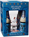 Coffret Bière Delirium Tremens 4 bouteilles 33cl + 1 verre Delirium Bière Belge de la Barsserie Huyghe.