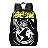 Hengtaichang Toxic-Holocaust Backpack for Women&Men Witty College School Backbag Daypacks