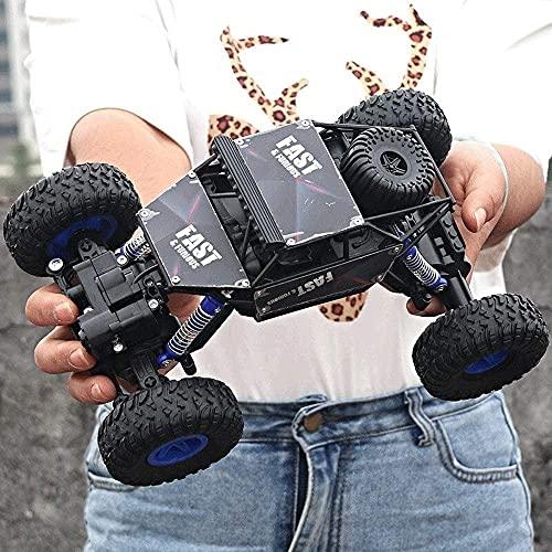 ADSVMEL RC Fast Racing 4WD 2.4GHZ Radio Control Car Niños Vehículo de Alta Velocidad Juguete eléctrico con baterías Recargables Juguetes Resistentes para niños