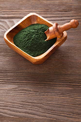 Spirulina Powder Powder 100% Pure Feed Superfoods Green Smoothie Various Sizes - 500 g