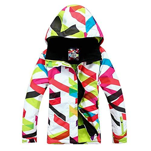 APTRO Damen Skijacke warm Jacke gefüttert Winter Jacke Outdoor Funktionsjacke Regenjacke Mehrfarbig 9064 M