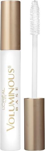 L'Oreal Paris Makeup Voluminous Lash Boosting Conditioning Primer Mascara, White Primer, 0.24 fl; oz.