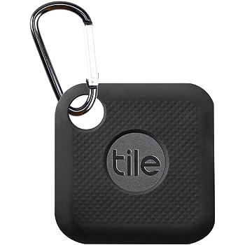 Newzerol for Tile Pro ケース 電池交換版 適用 紛失防止 携帯GPS トラッカー用 シリコーン 保護ケース【汚れ防ぎ・落下保護・全面カバー・キーリング付き】 (ブラック)