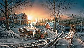 Pleasures of Winter Encore Print by Terry Redlin