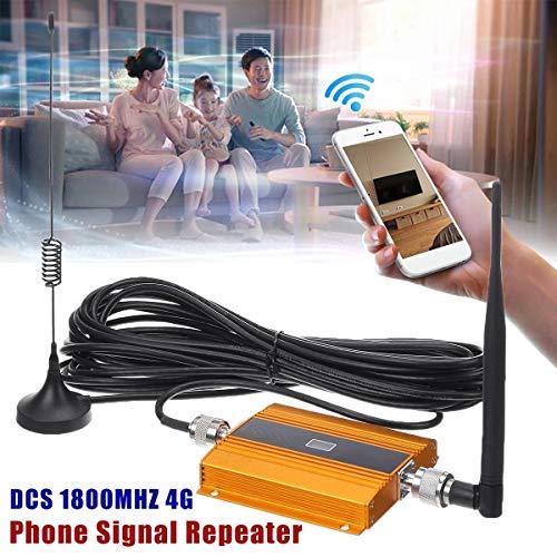 Wangxiaoxia Repetidor inalámbrico de Alcance WiFi Repetidor Celular Amplificador Antena DCS 1800MHz 4G Teléfono móvil Amplificadores de señal para la Oficina en casa (Color : Yellow, Size : Ones)