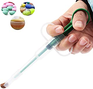 Kathson Pet pill shooter for cats and dog with Soft Tip Medical Feeding Tool Silicone Syringes
