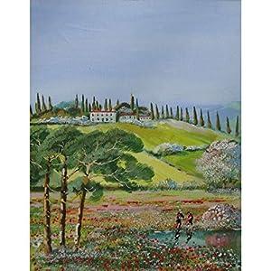 """""""Frühling in Italien"""" / Acrylbild / 50 x 40 cm"""