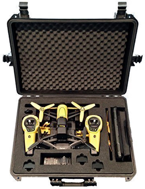 Tragetasche für Parrot Bebop mit Sky Controller und propguards hergestellt von mc-cases–Ausgezeichnete Cases–Das Original