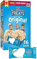 Rice Krispies Treats Marshmallow Snack Bars, Kids Snacks, School Lunch, Value Pack, Original, 12.4oz