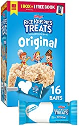 Kellogg's Rice Krispies Treats Original Marshmallow Bars - Classic Kid School Snack, Value Pack, Sin