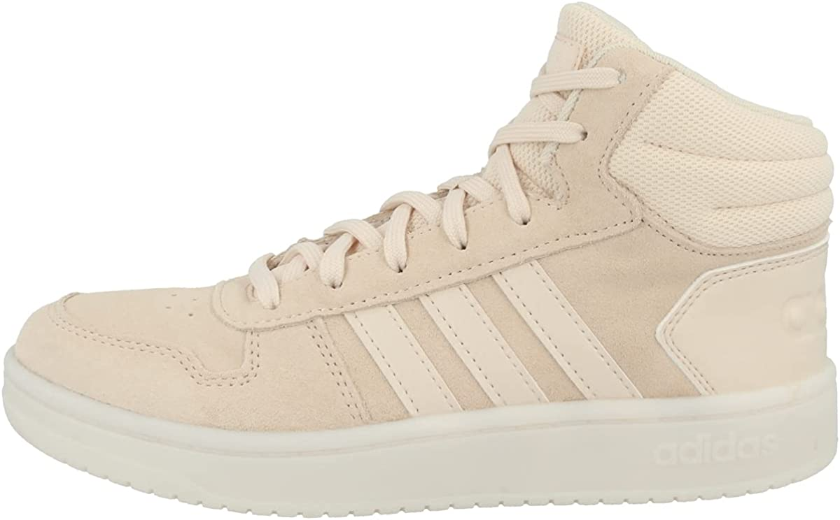 adidas Women Shoes Casual Sneakers Fashion Hoops 2.0 Mid Trainers Running